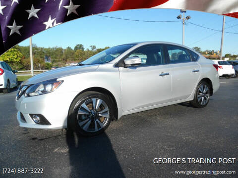 2018 Nissan Sentra for sale at GEORGE'S TRADING POST in Scottdale PA