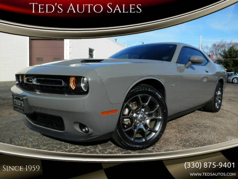 2017 Dodge Challenger for sale at Ted's Auto Sales in Louisville OH