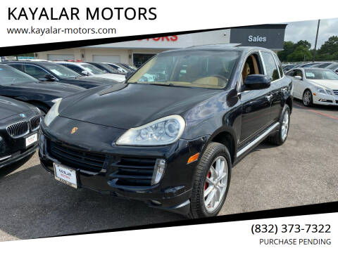 2008 Porsche Cayenne for sale at KAYALAR MOTORS in Houston TX