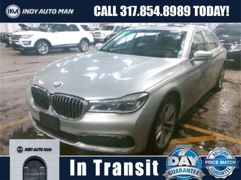 2016 BMW 7 Series for sale at INDY AUTO MAN in Indianapolis IN