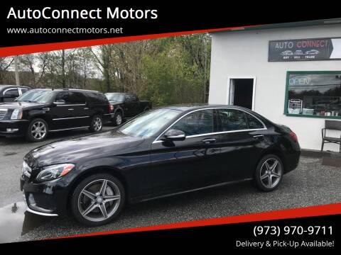 2015 Mercedes-Benz C-Class for sale at AutoConnect Motors in Kenvil NJ