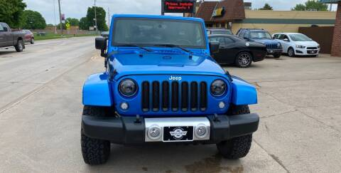 2015 Jeep Wrangler Unlimited for sale at Mulder Auto Tire and Lube in Orange City IA