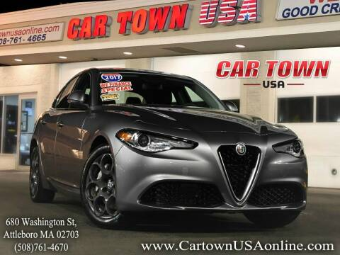 2017 Alfa Romeo Giulia for sale at Car Town USA in Attleboro MA
