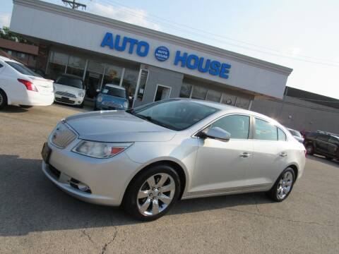 2012 Buick LaCrosse for sale at Auto House Motors in Downers Grove IL