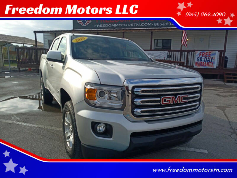2018 GMC Canyon for sale at Freedom Motors LLC in Knoxville TN