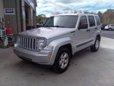 2011 Jeep Liberty for sale at John's Auto Sales & Service Inc in Waterloo NY
