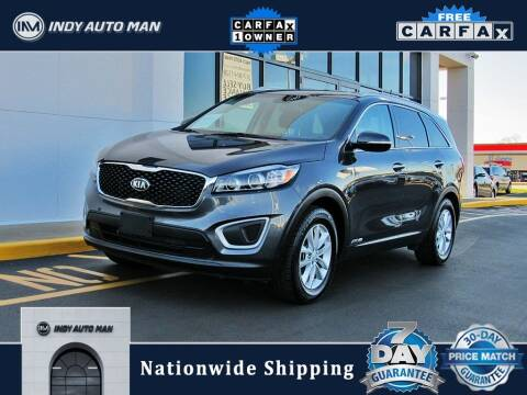 2018 Kia Sorento for sale at INDY AUTO MAN in Indianapolis IN