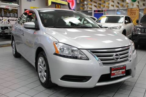 2015 Nissan Sentra for sale at Windy City Motors in Chicago IL