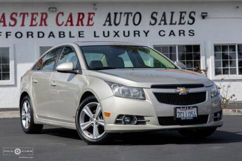 2014 Chevrolet Cruze for sale at Mastercare Auto Sales in San Marcos CA