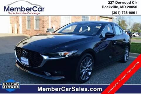 2019 Mazda Mazda3 Sedan for sale at MemberCar in Rockville MD