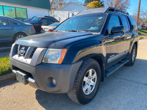 2006 Nissan Xterra for sale at GREENLIGHT AUTO SALES in Akron OH
