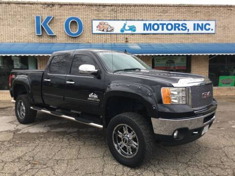 2012 GMC Sierra 2500HD for sale at K O Motors in Akron OH