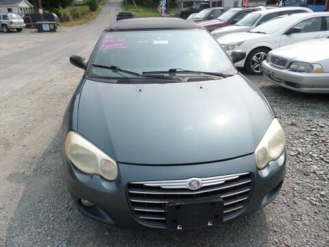 2006 Chrysler Sebring for sale at FERNWOOD AUTO SALES in Nicholson PA