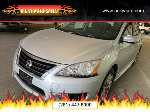 2014 Nissan Sentra for sale at Ricky Auto Sales in Houston TX