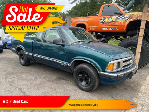 1996 Chevrolet S-10 for sale at A & R Used Cars in Clayton NJ