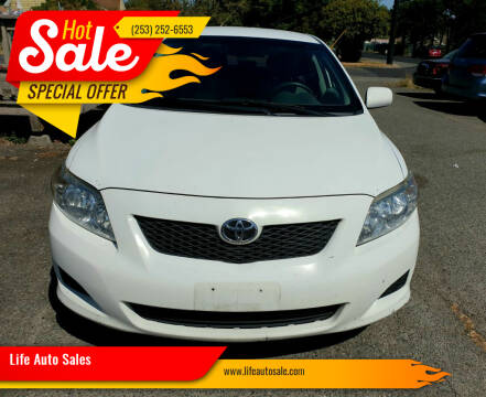 2009 Toyota Corolla for sale at Life Auto Sales in Tacoma WA