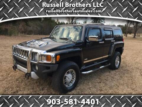 2008 HUMMER H3 for sale at Russell Brothers Auto Sales in Tyler TX