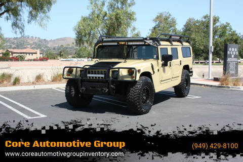 2001 HUMMER H1 for sale at Core Automotive Group - Hummer in San Juan Capistrano CA