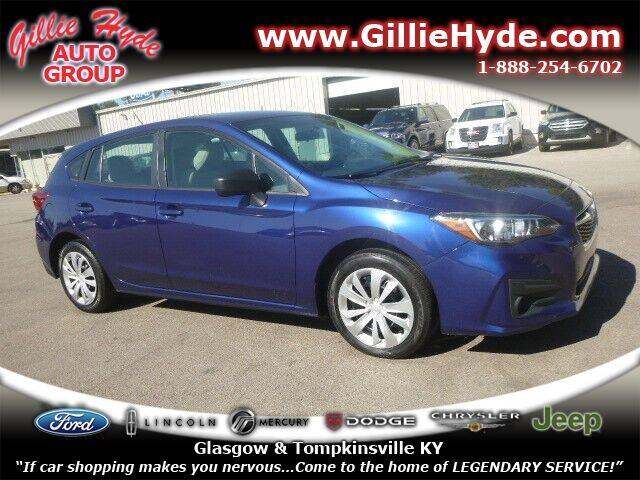 2018 Subaru Impreza for sale at Gillie Hyde Auto Group in Glasgow KY