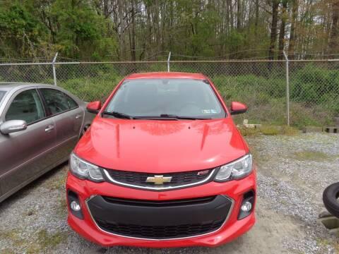 2017 Chevrolet Sonic for sale at European Coach Werkes, Inc in Frankford DE