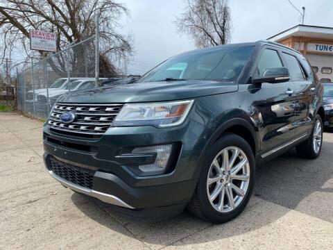 2016 Ford Explorer for sale at Seaview Motors and Repair LLC in Bridgeport CT