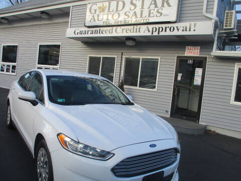 2014 Ford Fusion for sale at Gold Star Auto Sales in Johnston RI