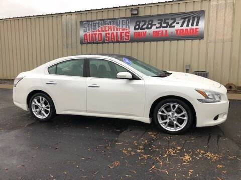 2013 Nissan Maxima for sale at Stikeleather Auto Sales in Taylorsville NC