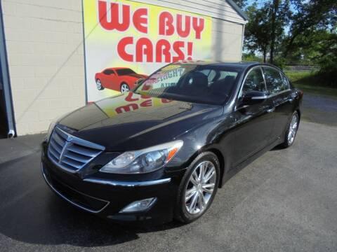 2012 Hyundai Genesis for sale at Right Price Auto Sales in Murfreesboro TN