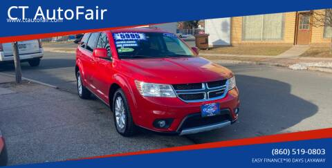 2014 Dodge Journey for sale at CT AutoFair in West Hartford CT