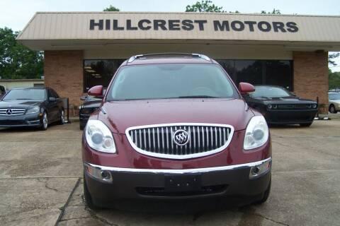 2010 Buick Enclave for sale at HILLCREST MOTORS LLC in Byram MS