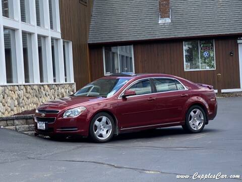 2009 Chevrolet Malibu for sale at Cupples Car Company in Belmont NH