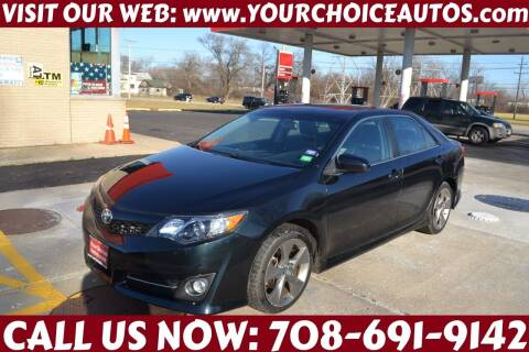 2014 Toyota Camry for sale at Your Choice Autos - Crestwood in Crestwood IL
