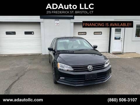 2016 Volkswagen Jetta for sale at ADAuto LLC in Bristol CT