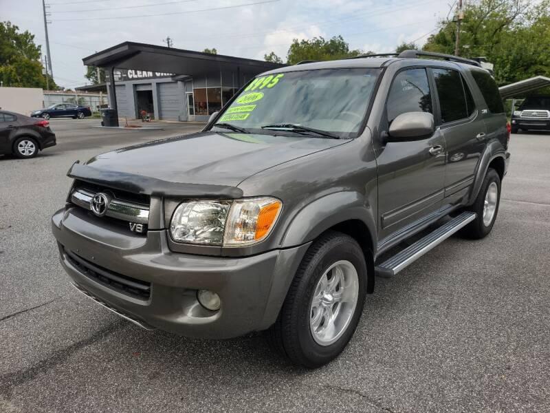 2006 Toyota Sequoia for sale at DON BAILEY AUTO SALES in Phenix City AL