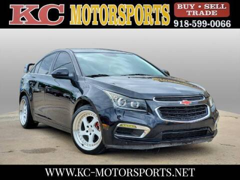 2015 Chevrolet Cruze for sale at KC MOTORSPORTS in Tulsa OK