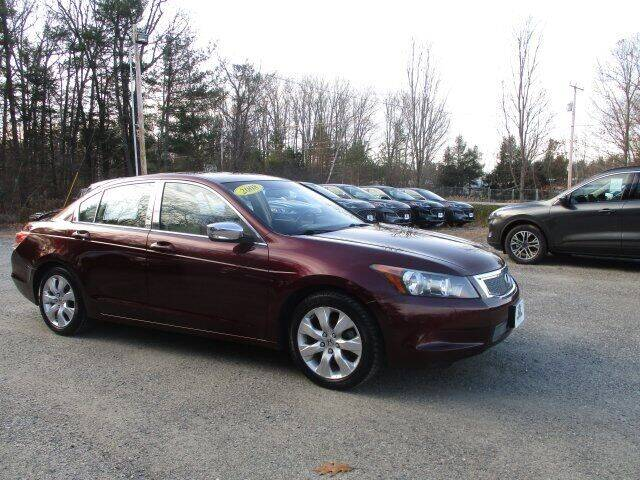 2008 Honda Accord for sale at MC FARLAND FORD in Exeter NH