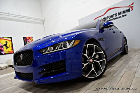 2017 Jaguar XE for sale at AUTO IMPORTS MIAMI in Fort Lauderdale FL