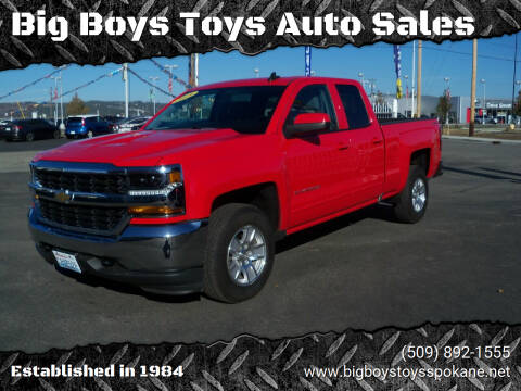 2018 Chevrolet Silverado 1500 for sale at Big Boys Toys Auto Sales in Spokane Valley WA