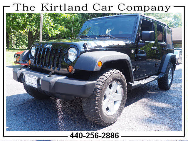2010 Jeep Wrangler Unlimited for sale at Kirtland Car Company in Kirtland OH