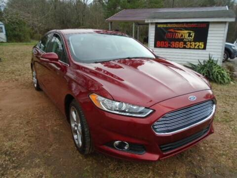 2013 Ford Fusion for sale at Hot Deals Auto LLC in Rock Hill SC