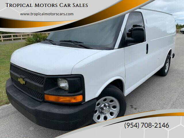 2014 Chevrolet Express Cargo for sale at Tropical Motors Car Sales in Deerfield Beach FL