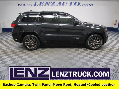 2016 Jeep Grand Cherokee for sale at LENZ TRUCK CENTER in Fond Du Lac WI