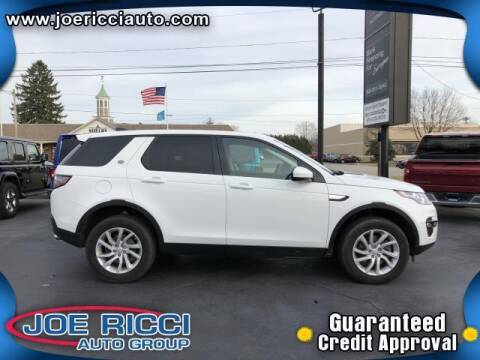 2019 Land Rover Discovery Sport for sale at JOE RICCI AUTOMOTIVE in Clinton Township MI