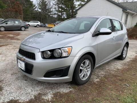 2012 Chevrolet Sonic for sale at Williston Economy Motors in Williston VT