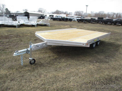 2022 Aluma Snowmobile 8614D-TA-R-12SL for sale at Rondo Truck & Trailer in Sycamore IL