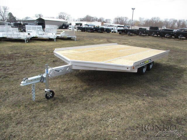 2022 Aluma Snowmobile 8614D-TA-R-12SL for sale at Rondo Truck & Trailer in Sycamore IL
