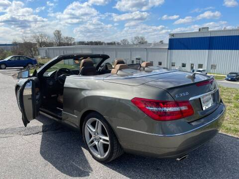 2012 Mercedes-Benz E-Class for sale at TruckMax in Laurel MD