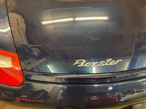 2000 Porsche Boxster for sale at Apple Auto Sales Inc in Camillus NY