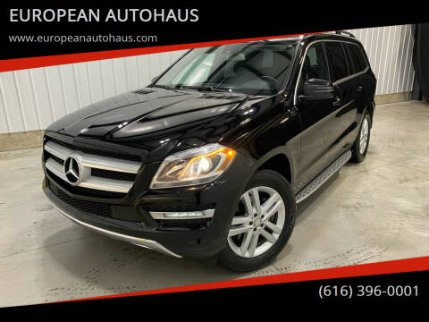2015 Mercedes-Benz GL-Class for sale at EUROPEAN AUTOHAUS in Holland MI