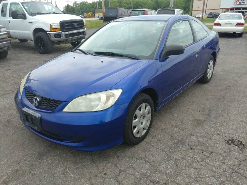 2005 Honda Civic for sale at RIDE NOW AUTO SALES INC in Medina OH
